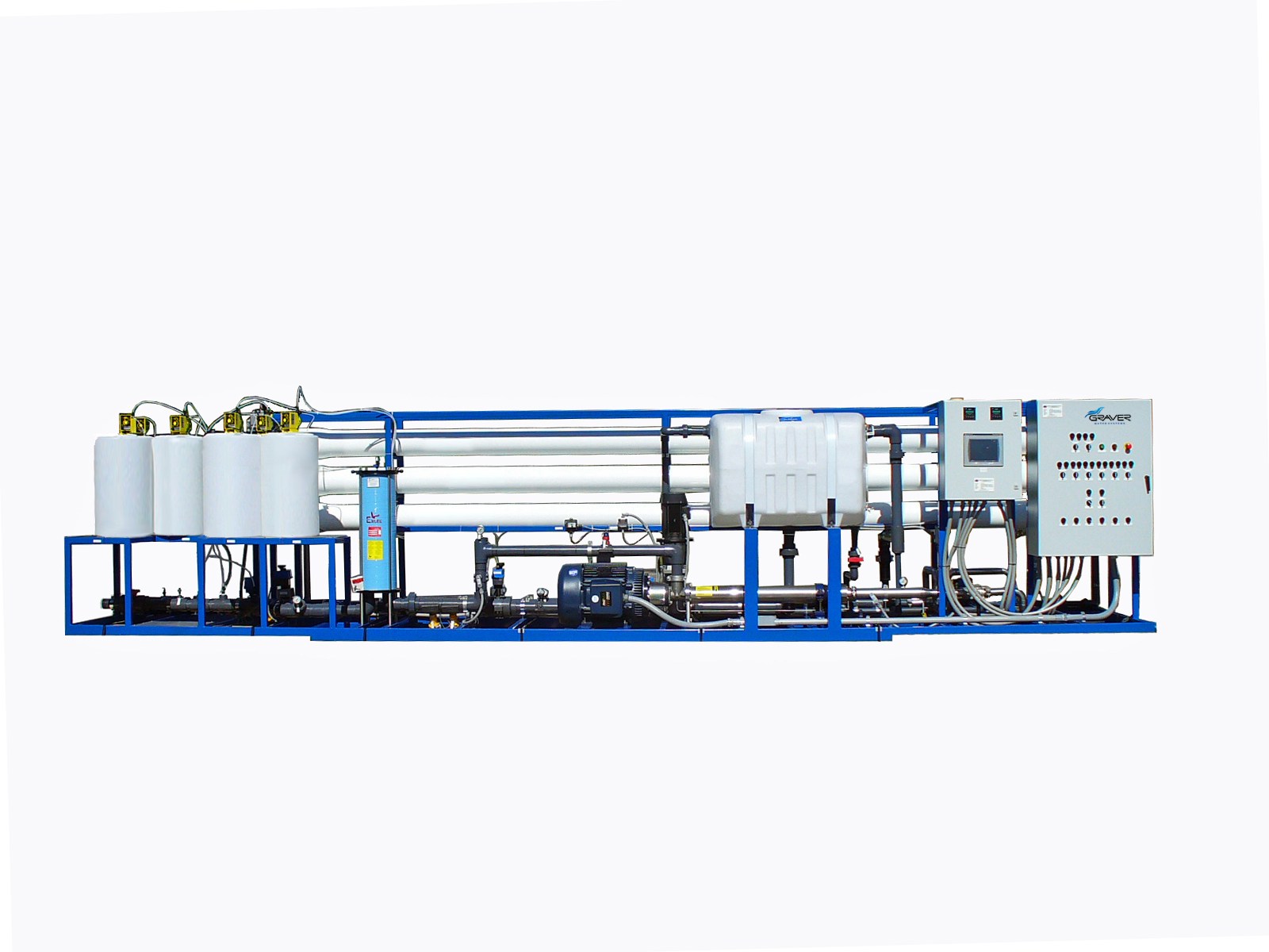 Graver Water Industrial Water Treatment Systems For Power
